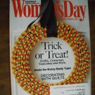 Woman's Day October 17, 2010 Trick or Treat Volume 73 Issue 15 Decorating with Quilts (G1)