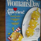 Woman's Day July 2011 We Love America Volume 74 Issue 10 BBQ, Road Trips, Corny Cupcakes (G1)