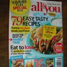 All You Summer Fun Special Summer 2012 79 Easy Recipes, Family Time, Eat to Lose (G1)