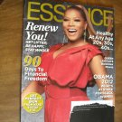 Essence January 2012 Volume 42 Number 9 Queen Latifah, Obama, Financial Freedom (G1)