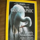 National Geographic Vol. 178 No. 1 July 1990 Florida Watershed, Pacific Salmon (G3)
