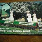 Preston County Buckwheat Festival Magazine Kingwood, WV (1984) 43rd Annual (G2)
