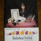 Preston County Buckwheat Festival Magazine Kingwood, WV (1998) 57th Annual (G2)