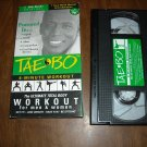 Tae Bo 8-Minute Workout for Men & Women on VHS a Billy Blanks Original (1998)