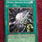 Yu-Gi-Oh! White Dragon Ritual MFC-027 Ritual Spell Card - YuGiOh 1st Edition Magician's Force 1996