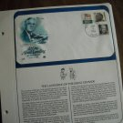 D-Day Allied Landing in Normandy Franklin D. Roosevelt Postal Commemorative Society display page