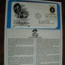 Honoring John Paul Jones Postal Commemorative Society First Day Cover Sheet 1979