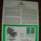 Endangered Flora 1979 Postal Commemorative Society First Day Cover Sheet