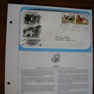 A Salute to Dogs 1984 Postal Commemorative Society First Day Cover