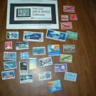 The U.S. Air & Space Collection - 27 U. S. Aviation & Space Stamps from The Stamp Place