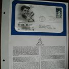 Honoring Babe Ruth 1983 Postal Commemorative Society First Day Cover Sheet