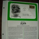 Civilian Conservation Corps 1983 Postal Commemorative Society First Day Cover Sheet