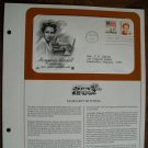 Margaret Mitchell - Novelist 1986 Postal Commemorative Society First Day Cover Sheet