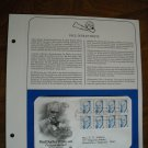 Paul Dudley White, M.D. Cardiology 1986 Postal Commemorative Society First Day Cover Sheet