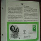 Honoring Bobby Jones Golfing Legend 1981 Postal Commemorative Society First Day Cover Sheet