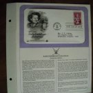Honoring Babe Didrikson Zaharias Athlete 1981 Postal Commemorative Society First Day Cover Sheet