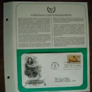 International Year of Disabled Persons 1981 Postal Commemorative Society First Day Cover Sheet