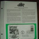 150th Anniversary Savings and Loan Associations 1831 - 1981 Commemorative First Day Cover Sheet