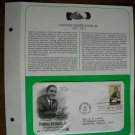 Honoring Whitney M. Young Jr. Civil Rights Leader 1981 Postal Commemorative First Day Cover Sheet