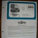 Saluting the Library of Congress 1982 Postal Commemorative Society First Day Cover Sheet