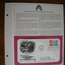 Diplomatic Relations Between Netherlands - United States 1982 Commemorative Society First Day Cover