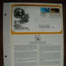1982 World's Fair Breeder Reactor & Fossil Fuels 1982 Postal Commemorative First Day Cover Sheet
