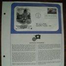 Montana Statehood Centennial 1889 - 1989 Postal Commemorative Society First Day Cover Sheet