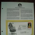 Bicentennial House of Representatives 1989 Postal Commemorative Society First Day Cover Sheet