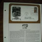 Saluting Forest Fire Prevention 1984 Postal Commemorative Society First Day Cover Sheet