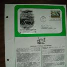 Louisiana World Exposition 1984 Postal Commemorative Society First Day Cover Sheet