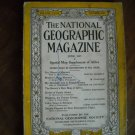 National Geographic June 1935 Vol. LXVII (67) No. 6 Morocco, French Guinea (G4)