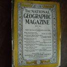 National Geographic May 1935 Vol. LXVII (67) No. 5 Maine, Waikiki, Prairie Falcon (G4)