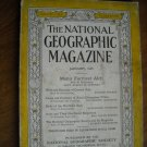 National Geographic January 1936 Vol. LXIX (69) No. 1 Central Asia, Auks (G4)