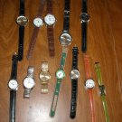 Lot of 12 Watches (all need batteries) (CMB2) Eiger, Classique, Majestron and more