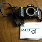 Minolta Maxxum 7000 Body Only for Parts or Repair with Manual