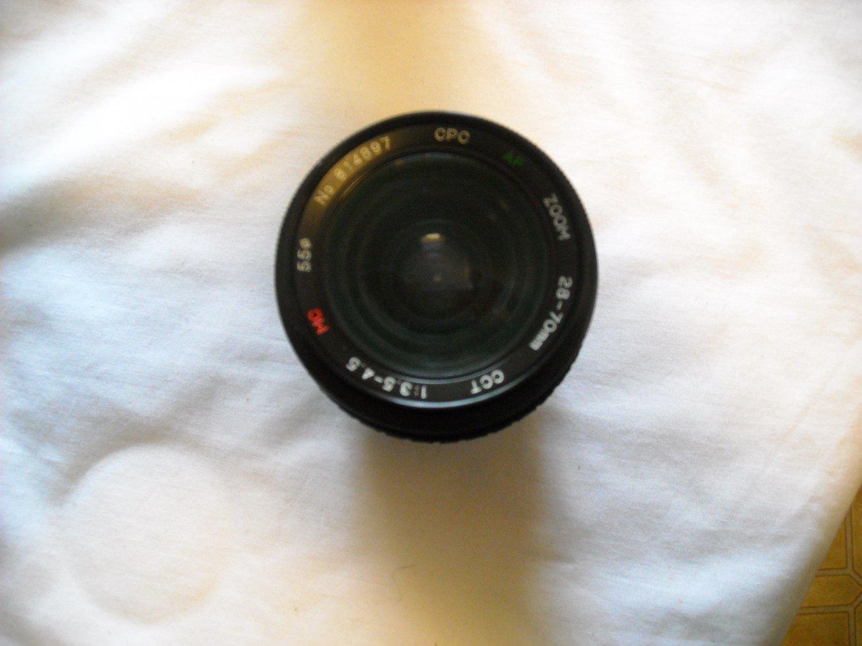 CPC AF Zoom 28-70mm No.814897 Camera Lens