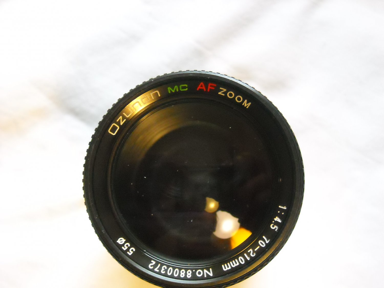 Ozunon MC AF Zoom 1:4.5 70-210mm NO 8800372 55