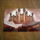 Choir and Organ of the Mormon Tabernacle Salt Lake City Utah Postcard