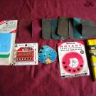 Craft Items - Iron On Patches, Snap Fasteners, Hook Eyes and Hem Fabric (WTNM6 WLB1)