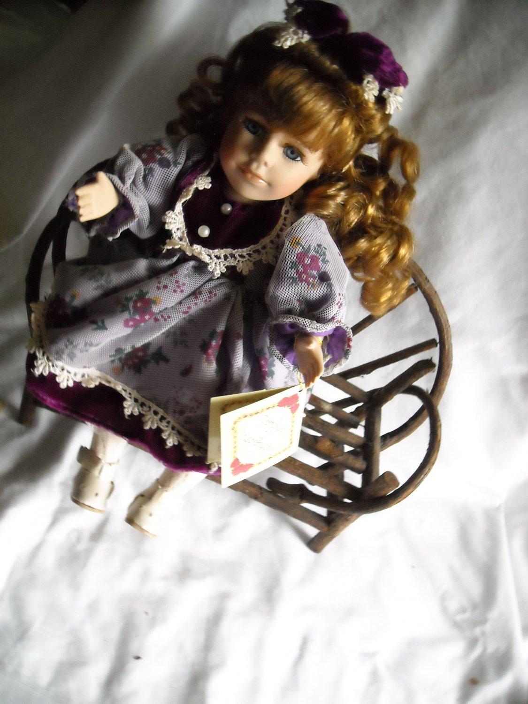 Collectors Choice Porcelain Bisque Doll Musical & Movement