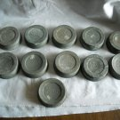 11 Ball Metal Canning Lids Mason Jar Lids with Glass/Porcelain Lined Inside (CMB2)