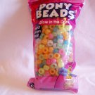 Pony Beads Glow in the Dark Craft DIY (BP5) Directions on Bag to Create a Pet