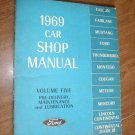 1969 Ford Car Shop Manual Vol 5 ~ Volume Five (BB58)