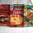 Holiday Entertaining, Holiday Baking and Home For the Holidays Cookbooks (BB65)