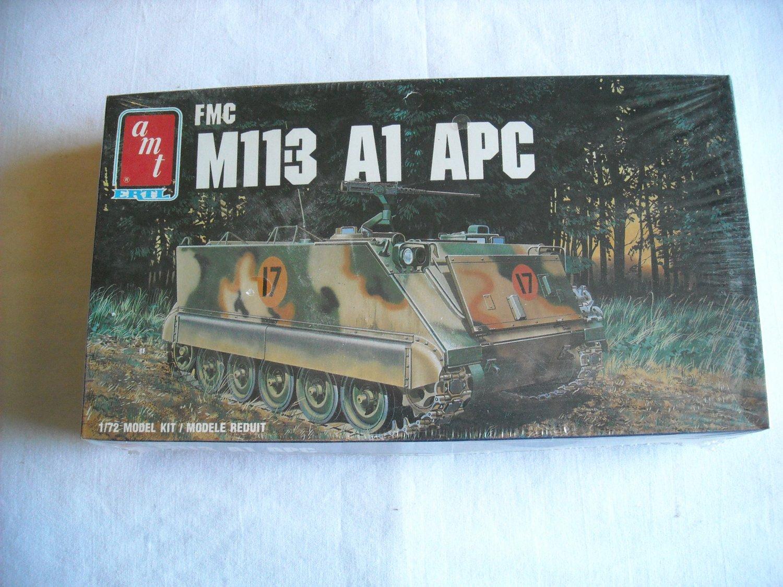 AMT ERTL FMC M11-3 A1 APC 1:72 NIP Model Kit Made in Italy (1988) (mw)