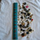 Lot of 100 Assorted Buttons Assorted Sizes and Styles Great for Crafts (WTNM14)
