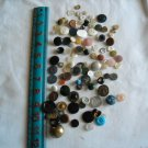 Lot of 100 Assorted Buttons Assorted Sizes and Styles Great for Crafts (WTNM25)