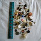 Lot of 100 Assorted Buttons Assorted Sizes and Styles Great for Crafts (WTNM36)
