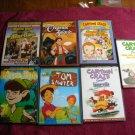 7 Children's DVD Peter Pan, Tom Sawyer, Treasure Island, 3 cartoon craze and a Christmas