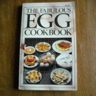 The Fabulous Egg Cookbook by Jeffrey Feinman (1979) (BB65)